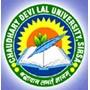 Chaudhary Devi Lal University